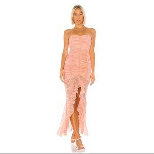 Chun Li Gown in Nude Pink